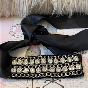 Super blinged out with rhinestones headband